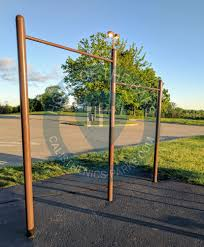 Flag Pole Workout Kettering Ohio Outdoor Exercise Park Delco Park United