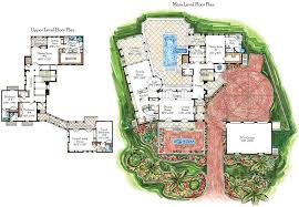 villa house plans tuscan floor plans home act