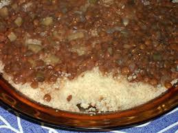 recette cuisine couscous recette de couscous aux lentilles à la noix de muscade et à la