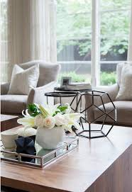 white coffee table decorating ideas pinterest
