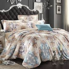 Blue And Brown Bed Sets Light Blue Beige And Brown Bohemian Boho Style Themed