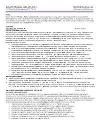 project coordinator resume sle resume technology manager copy project coordinator resume