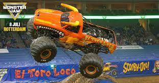 original grave digger monster truck 160 km per uur 4500 kg en 11 meter hoog monster jam is back go