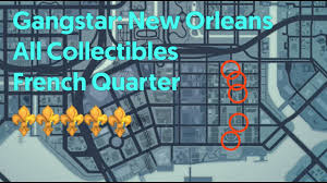 Map New Orleans French Quarter by Gangstar New Orleans All Collectibles French Quarter Youtube