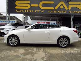 lexus is 250 convertible lexus is250 2010 2 5 in กร งเทพและปร มณฑล automatic convertible ส
