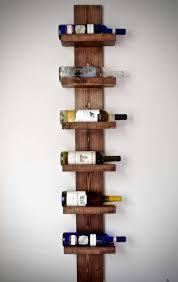 20 ways to modern wall mounted wine rack