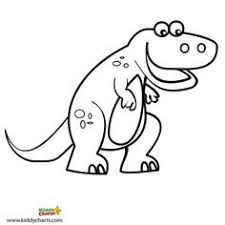 free coloring cute baby dinosaur busy hands