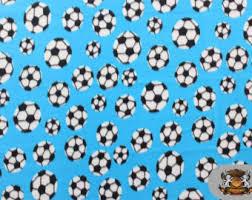 soccer wrapping paper soccer fleece etsy