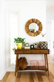 mid century entry table home tour une maison à charleston elephant in the room entry