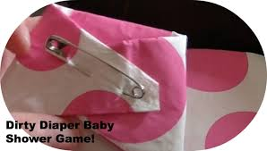 easy dirty diaper baby shower game diy youtube