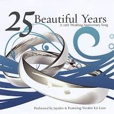 25 wedding anniversary jaynjoe 25 beautiful years a 25th wedding anniversary song cd