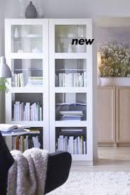 Ikea Besta Storage Combination With Doors And Drawers Pretty Bookshelves And Storage Using 3 Ikea Besta Double Bookcases