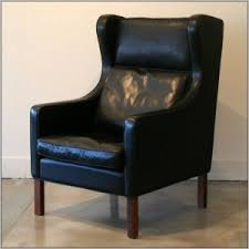 Leather Wing Back Chairs Black Leather Wingback Chair Uk Chairs Home Decorating Ideas