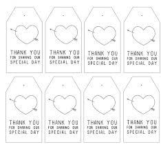 wedding gift labels 25 images of wedding favor tags printable template adornpixels