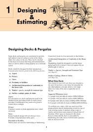 australian decks u0026 pergolas construction manual allan staines
