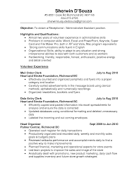 resume sles administrative manager job summary for resume resume summary clerical position therpgmovie