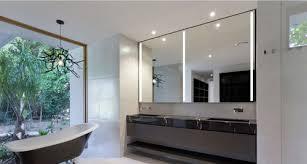 Cabin Vanity Lights Vertical Vanity Lighting Light Walls Dark Floors Bathroom