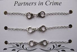 best bracelet charms images Triple partners in crime bracelet with handcuff charms jpg