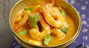 cuisine crevette curry de crevettes lait de coco recettes rapide cyril lignac