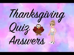 thanksgiving quiz answers woozworld