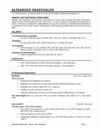 developer resume template resume template for developer fresh 15 web developer resume