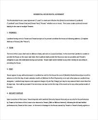 home lease agreement sample home lease purchase agreement form
