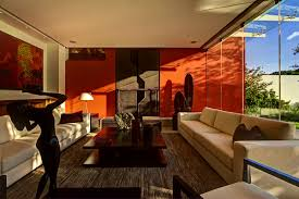 Brown Themed Living Room by Accessories Entrancing Trendy Decorating Living Room Orange Wall