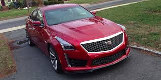 cadillac cts vs cadillac cts v review business insider