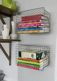 Bookcase With Baskets 20 Of The Most Ingenious Ways To Organize With Baskets