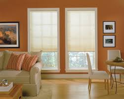 Decorating Ideas For Bedroom With Orange Walls Decorating Chic Levolor Cellular Shades For Interior Design Ideas