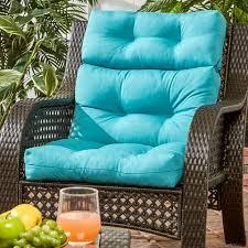 High Back Patio Chair Cushion Coastal Collection Highback Outdoor Chair Cushion U2013 Cushions Direct