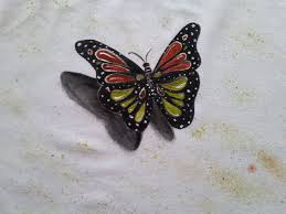 butterfly shirts butterfly painting painted shirt white