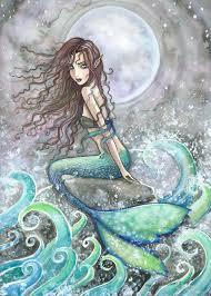 Mermaid Fairy The Fantasy And Fairy Art Of Molly Harrison Mermaid Art Prints