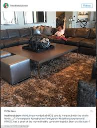 heather dubrow new house heather dubrow shares look at office in new mansion on instagram