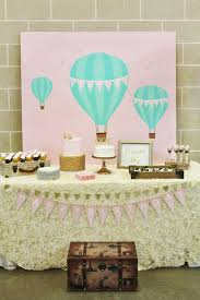 hot air balloon decorations this vintage hot air balloon party will take you up up and away