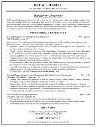 free manager resume retail management resume exles 19 manager sle free