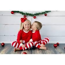 matching sibling reindeer pajamas youth sizes