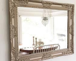 dining room mirror etsy