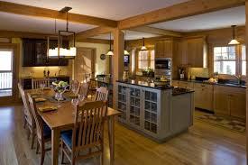 cuisine et salle a manger plan de cuisine ouverte sur salle à manger argileo