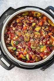 instant pot pasta e fagioli soup olive garden copycat plus