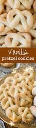 vanilla pretzel cookies recipe coarse sugar pretzels and vanilla