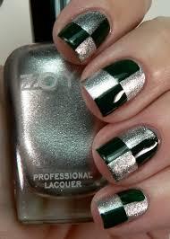 slytherin nails nails pinterest slytherin green nail and