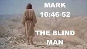 Was Bartimaeus Born Blind Mark 10 46 52 The Blind Man Bartimaeus Sunday 2015 10 25 Youtube