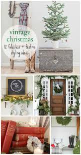 vintage christmas 12 fabulous festive styling ideas bhg style
