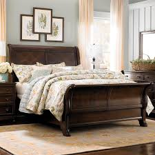 bedroom 4ft bed frame tall headboard beds solid wood double bed