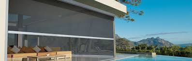 Drop Down Awnings Straight Drop Awnings Luxaflex