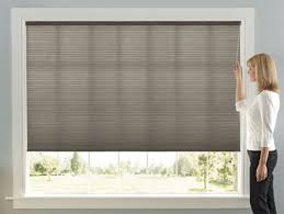 Levolor Motorized Blinds Cordless Top Down Bottom Up Day Night Cellular Shades Levolor