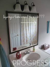 Epic Home Design Fails by The House On Hillbrook Bathroom Epic Fail On Framing A Mirror