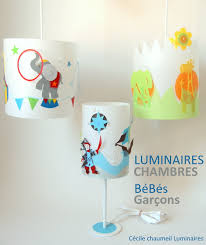 luminaire chambre gar n suspension chambre bb garon beautiful with abat jour chambre bb