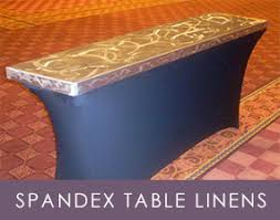 spandex table covers spandex table linens spandex linens spandex covers dallas tx